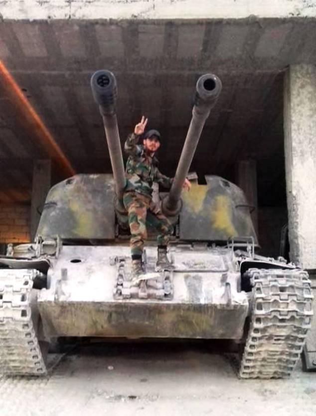 «Изделие 500» в Сирии