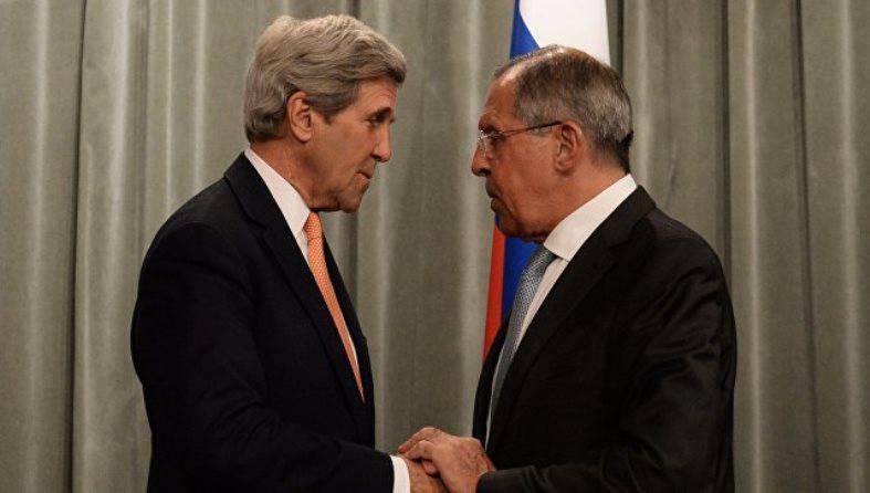 Лавров и Керри встретились впервые после выборов президента США