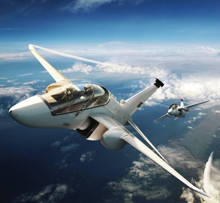 В Британии разрабатывают учебный самолёт модульной конструкции