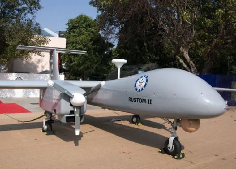 Первый индийский ударный БЛА совершил испытательный полёт