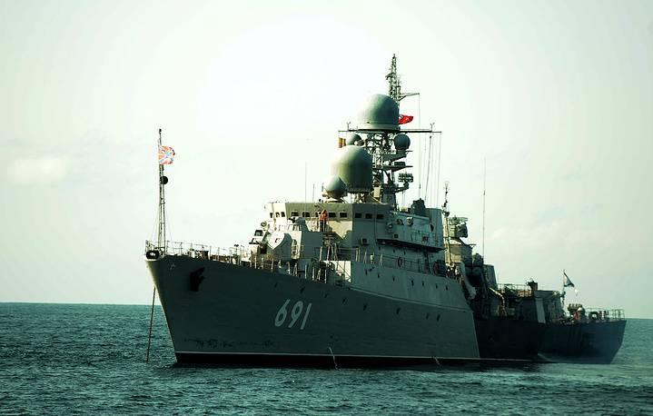 Военно-морская мощь российского Каспия