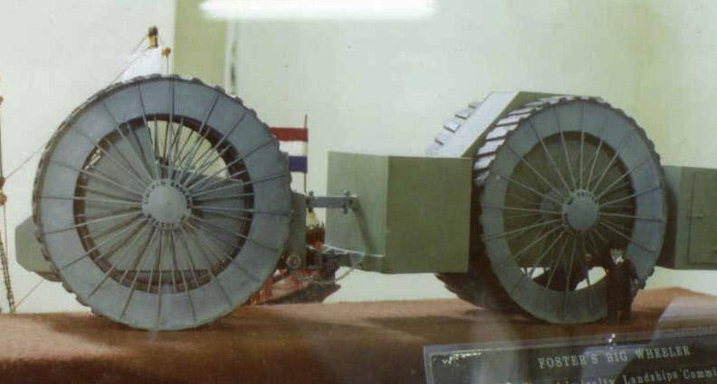 Проект бронемашины Big Wheel Landship (Великобритания)