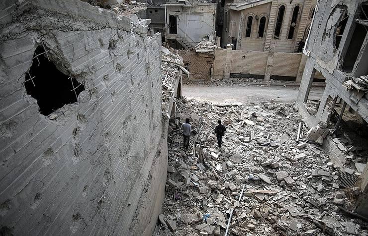 Террористы расстреляли в Алеппо мирных граждан, вышедших на митинг протеста