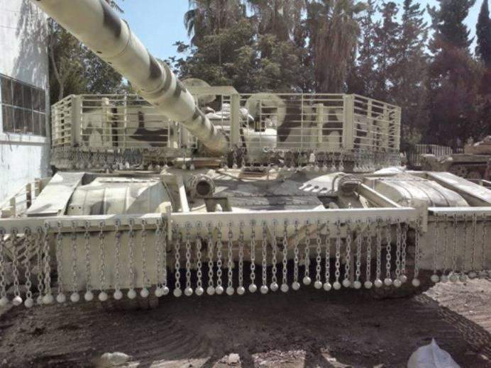 Сирийские танкисты получили новые «сверхзащищённые» Т-72