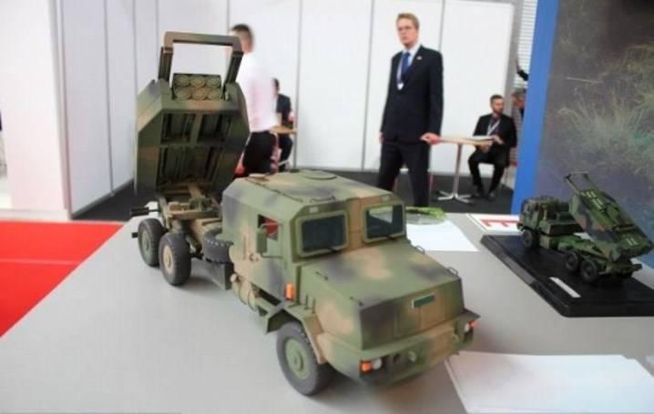 Польша намерена закупить ракетные комплексы Homar-300