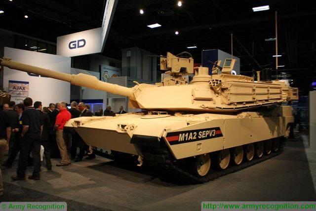 США создадут новый проект модернизации танков M1A2 SEP v.4