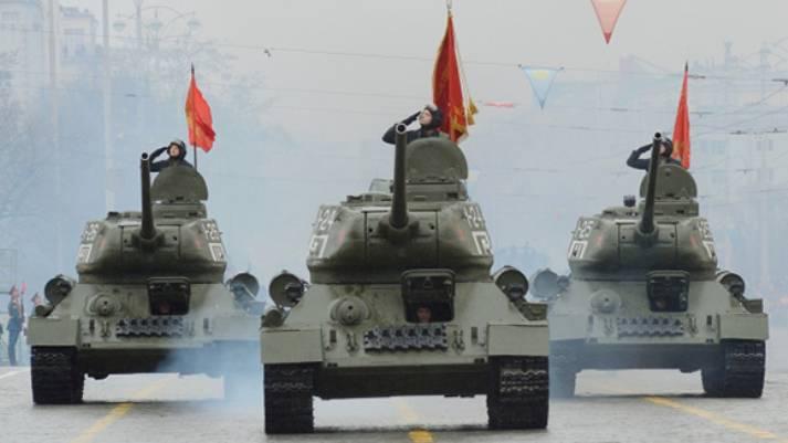 Минобороны заказало техобслуживание танков Т-34