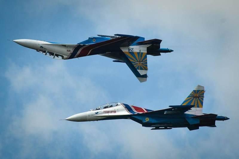 «Русские витязи» в небе над Ираном (видео)