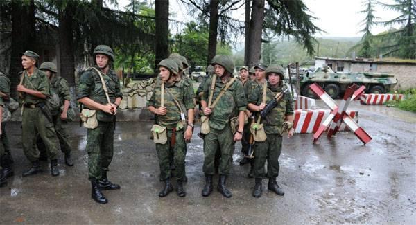 Подписание закона о ратификации соглашения об объединённой группировке войск РФ и Абхазии