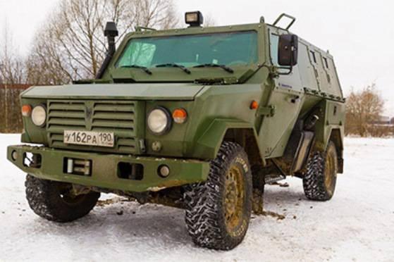 МО РФ приняло на вооружение бронеавтомобиль «Скорпион»