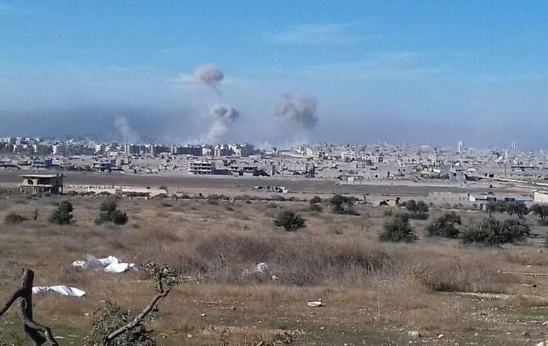 Сирийская армия вошла в квартал Ард-эль-Хамра в восточной части Алеппо