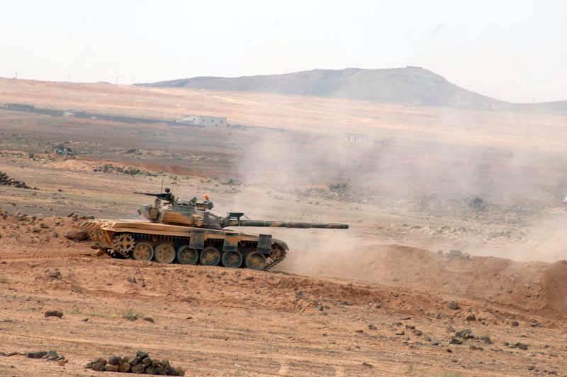 Фоторепортаж: Сирийская арабская армия