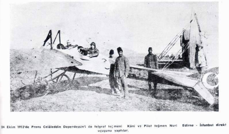 Воздушная стража султана. Балканские войны как начало боевого пути османской авиации