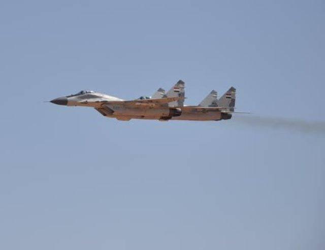 МиГ-29 на вооружении ВВС Сирии