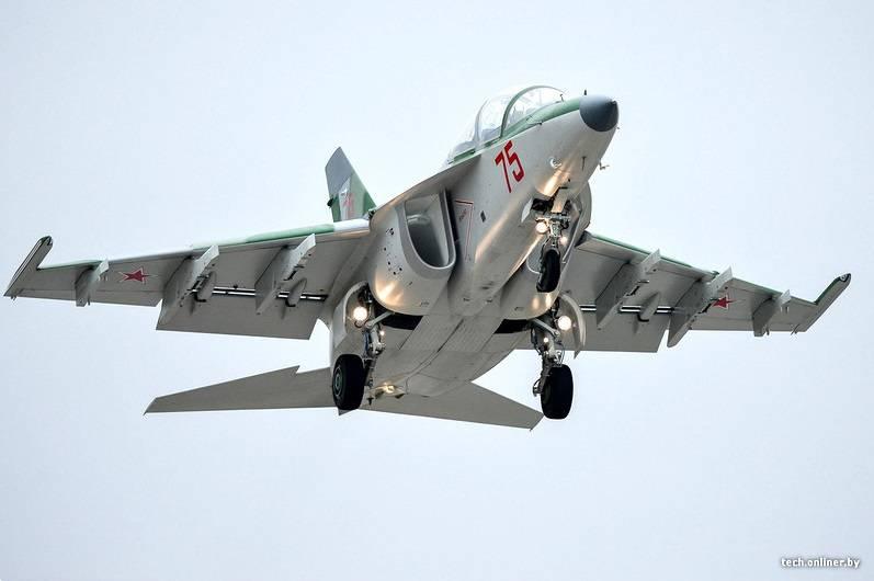 В Беларусь прибыла очередная партия самолётов Як-130
