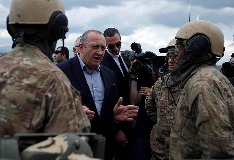 Президент Грузии: страна должна выигрывать войны «без сражения и кровопролития»
