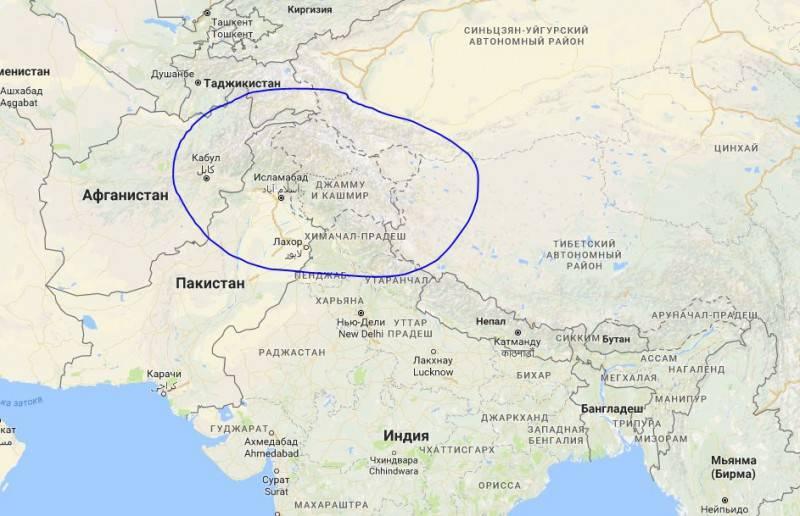 Роль России в войне Индии и Пакистана