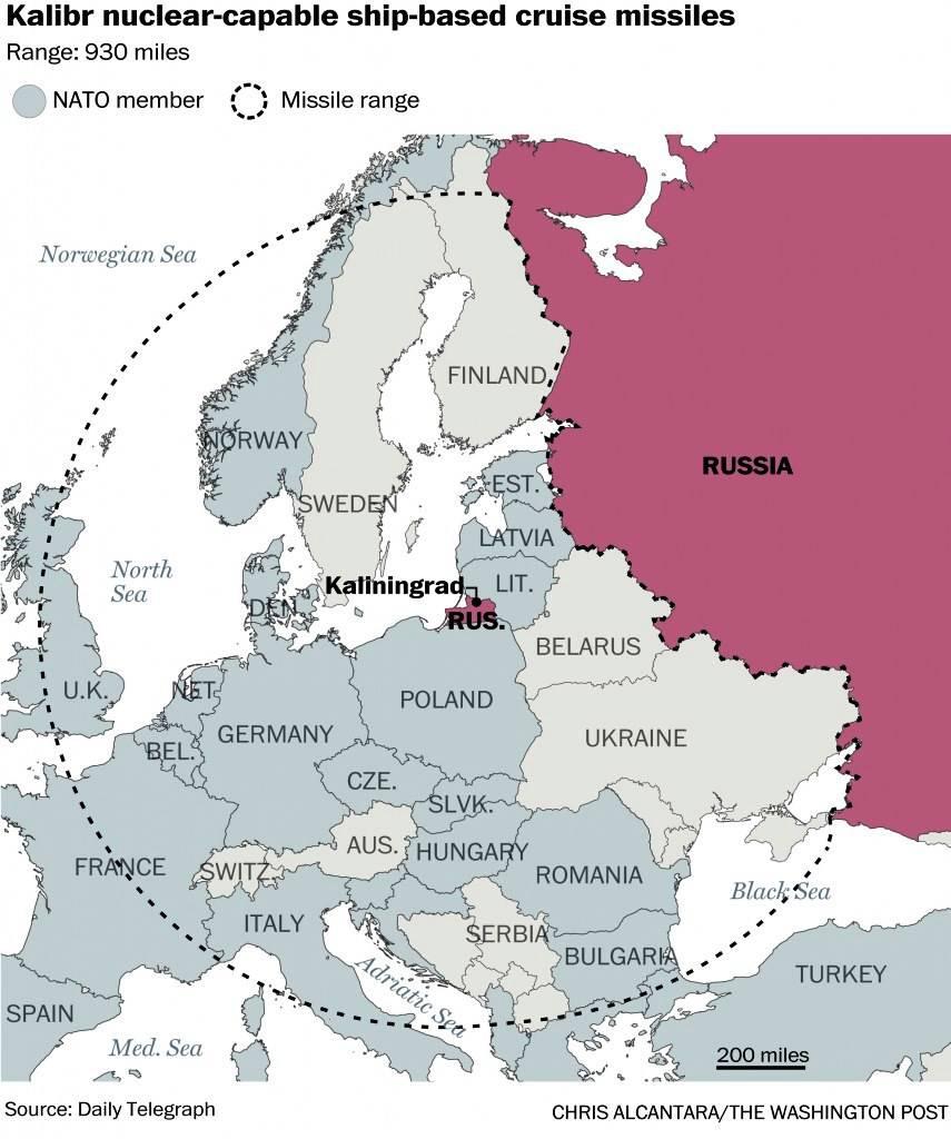 Смотреть Российские ракеты нацелены на Европу видео