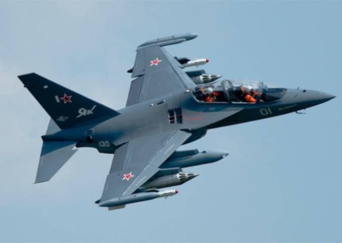 Очередная партия Як-130 поступит до конца года на базу Краснодарского авиационного училища
