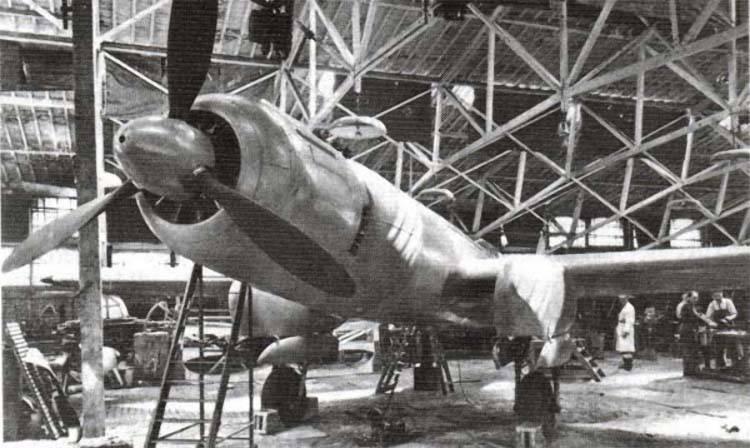 Экспериментальный самолет И.И. Махонина Mak.123 (Франция)