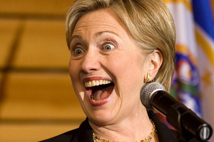 Мадам Клинтон, вам повторить?