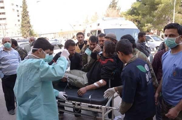 Русские специалисты доказали применение химоружия боевиками против мирных граждан Алеппо