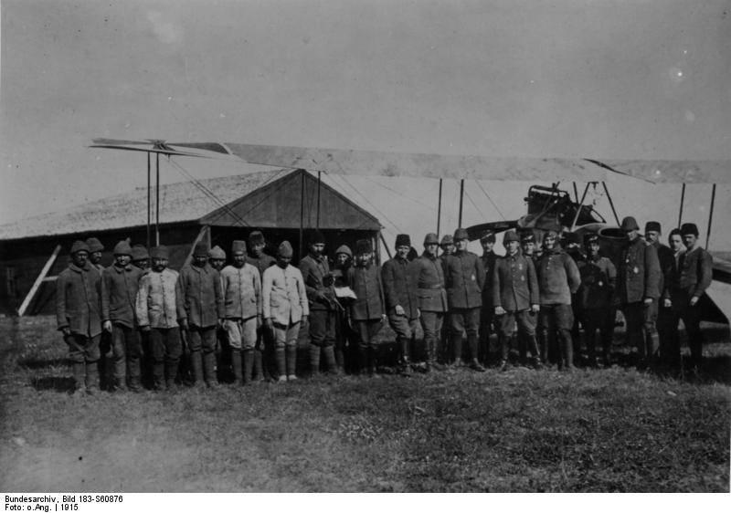 Воздушная стража султана. Боевой опыт Первой мировой и конец османской военной авиации