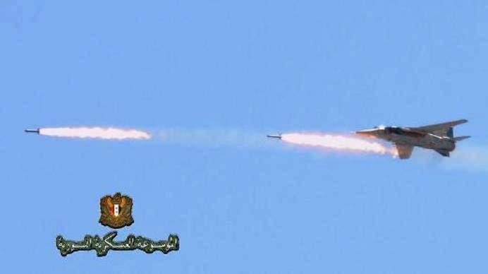 Неуправляемые авиационные ракеты, используемые в Сирии