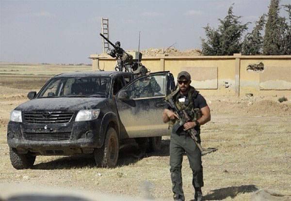 Американский военный подорвался насамодельной бомбе вСирии