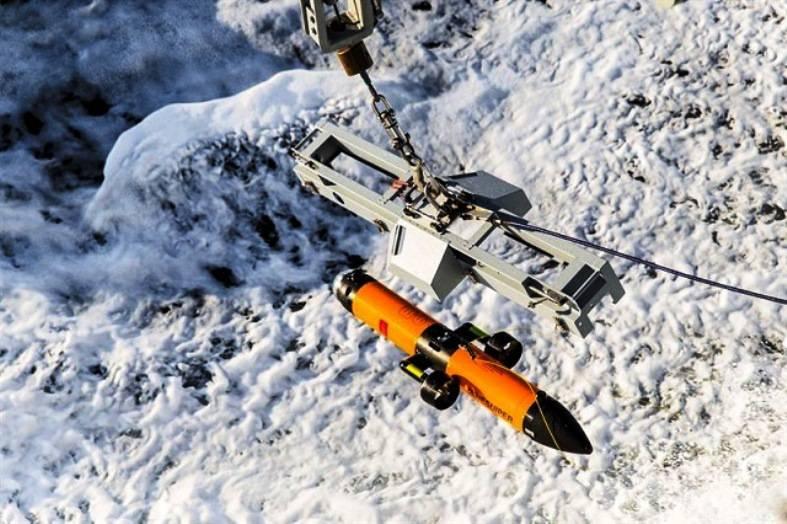 Норвежские ВМС приняли на вооружение противоминный дрон