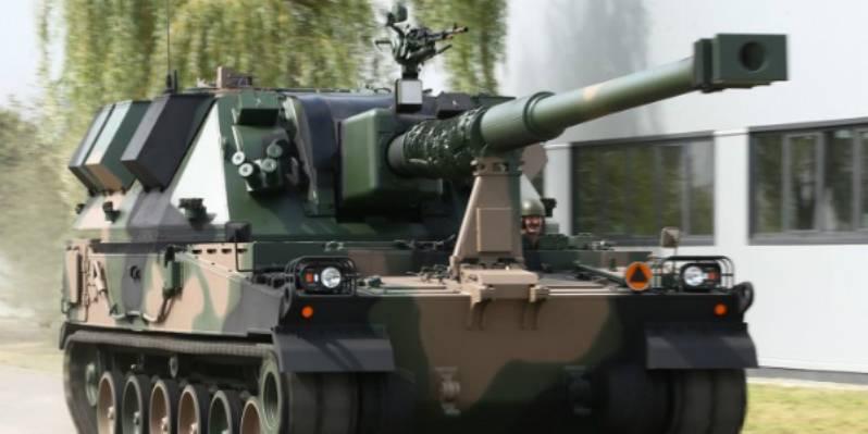 Польская армия пополнилась новыми самоходными гаубицами Krab