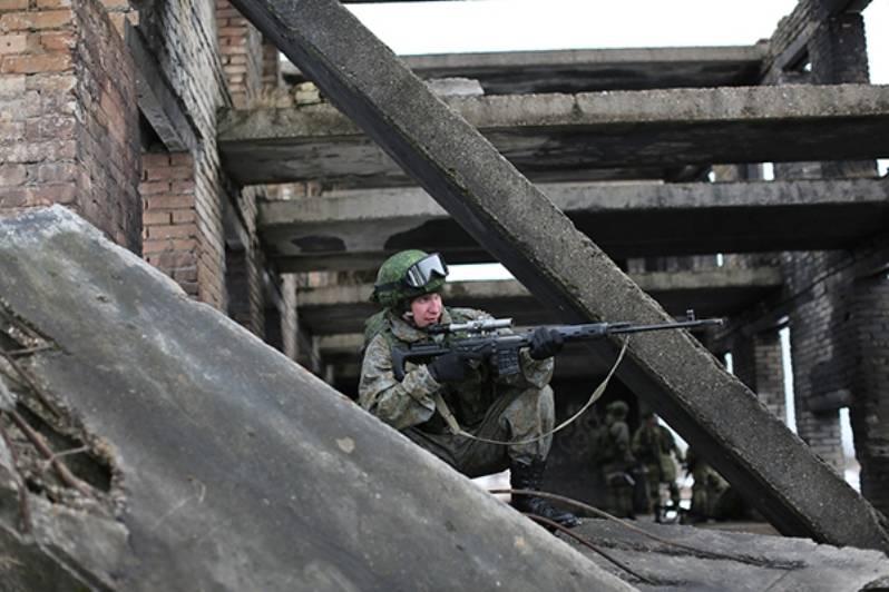 Соединения морской пехоты полностью оснащены экипировкой «Ратник»