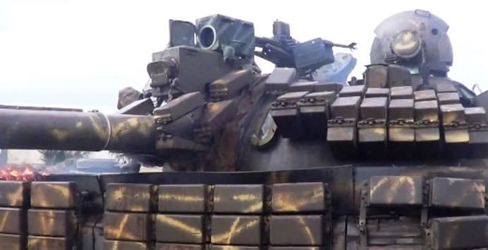 На сирийских танках появились тепловизионные прицелы Viper