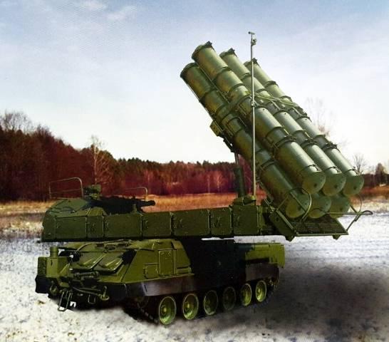 «Алмаз-Антей» передал военным бригадный комплект ЗРК «Бук-М3»