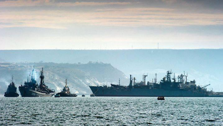 Выполнение задач в Средиземном море – одно из основных направлений деятельности Черноморского флота в 2017 г