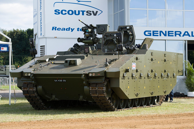 Танковые войска Великобритании приняли решение уменьшить натреть