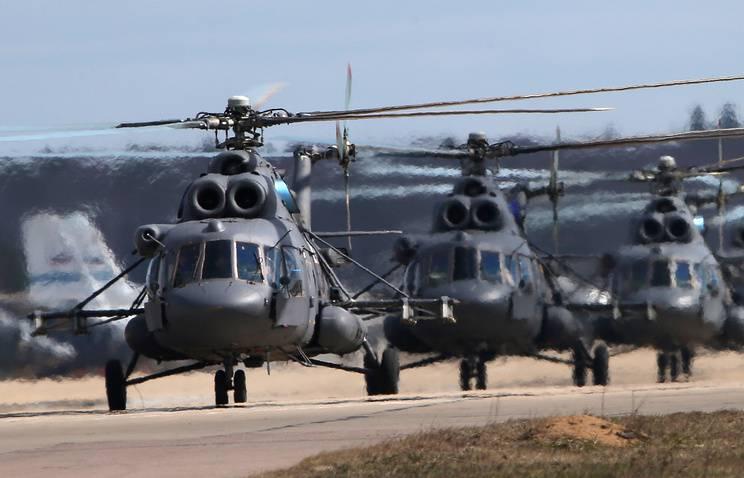 Минобороны Беларуси получило 6 российских Ми-8МТВ-5