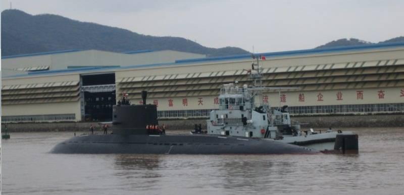 атомная подводная лодка проекта 093 шань