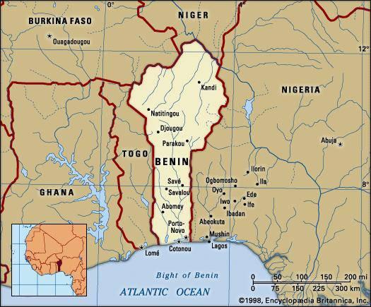 У берегов государства Бенин захвачено судно с российским экипажем