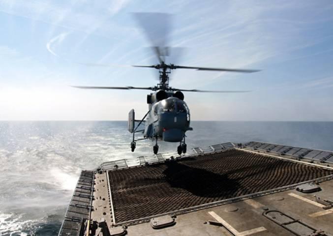 До конца года морская авиация получит 8 модернизированных Ка-27М