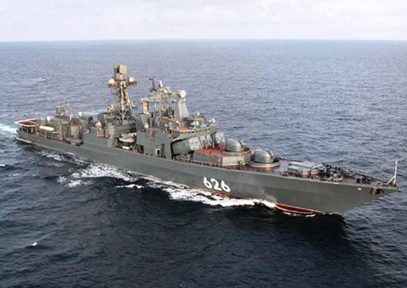 «Вице-адмирал Кулаков» завершил выполнение задач в Средиземноморье