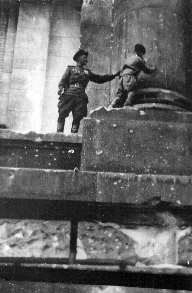 Сын полка, дошедший до Берлина