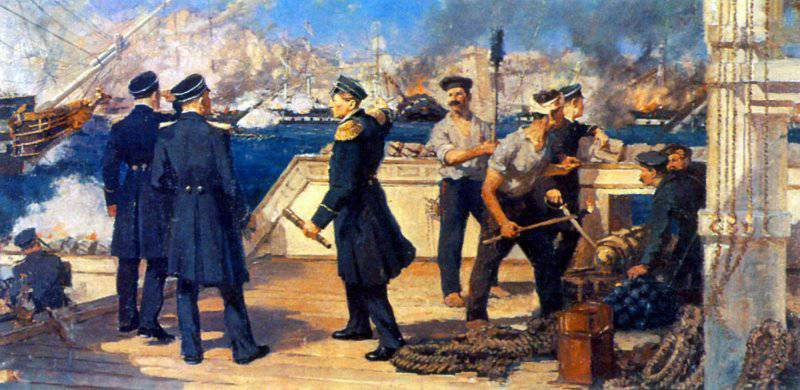 How the Russian fleet destroyed the Turkish squadron in the Battle of Sinop