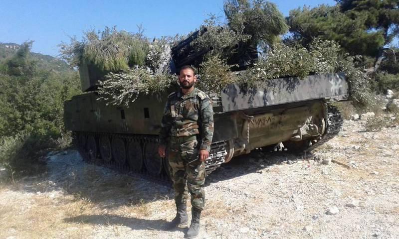 «Шилка» и «Мста-Б» в Сирии