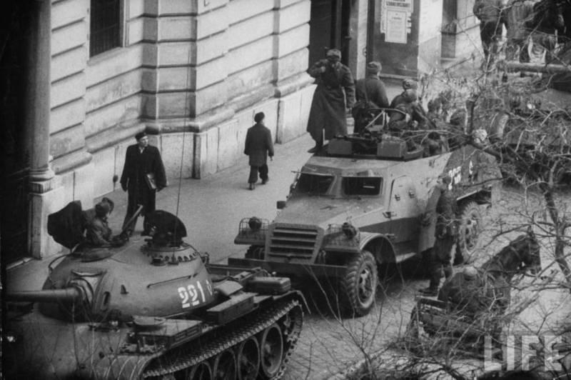 Вихрь на улицах Будапешта. Шестьдесят лет венгерским событиям 1956 года