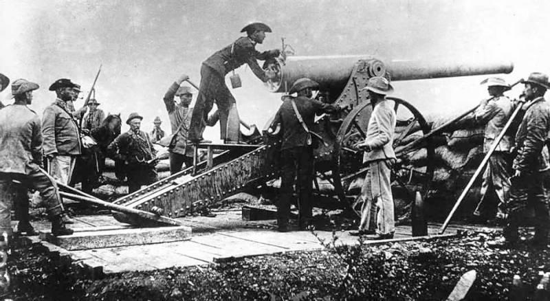 Англо-трансваальская война на фотографиях и на картинках