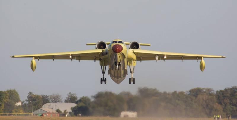 Китай приобретает у России два самолёта-амфибии Бе-200