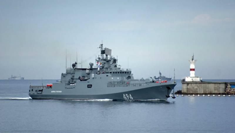 СМИ: «Адмирал Григорович» усилит средиземноморскую группировку российских кораблей