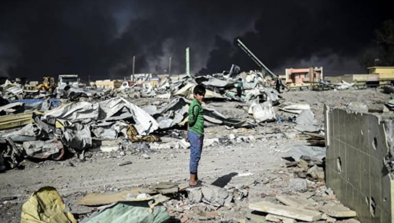 МО РФ: США продолжают бомбить жилые кварталы близ Мосула