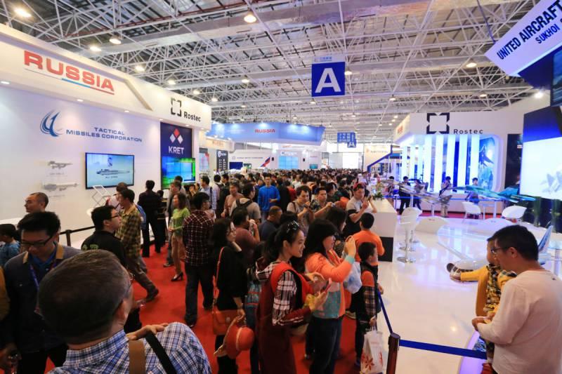 Россия на выставке Airshow China 2016